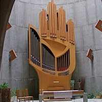 L'orgue de l'Alpe d'Huez (conçu par J. Guillou)