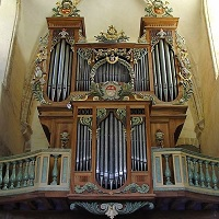 L'orgue de l'abbaye de la Lucerne