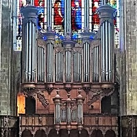 Le grand-orgue de la cathédrale de Bourges