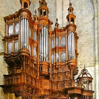 Orgue de la cathédrale Notre-Dame de St Bertrand de Comminges