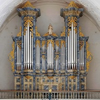 L'orgue de l'Abbaye de Bellelay (Suisse)
