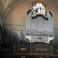 Orgue Merklin-Tamburini de San Martino in Greco